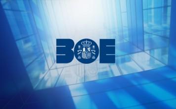 BOE Boletín boletin oficial del estado ley