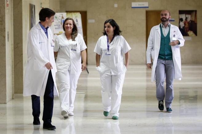 hospital plantilla profesion sanitarios trabajadores salud